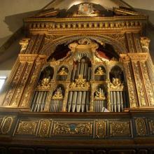 Organo Facchetti 1526 Chiesa S. Michele in Bosco Bologna