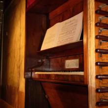organo lingiardi 1865 croce santo spirito castelvetro piacentino cremona